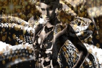 Woman and the Snakes II | 110cm X 90cm | Prijs op Aanvraag